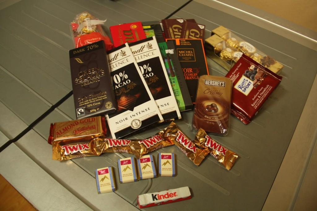 Moulte chocolat! Merci le lycée français de Séoul!