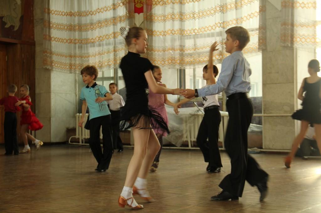 A l'école de danse