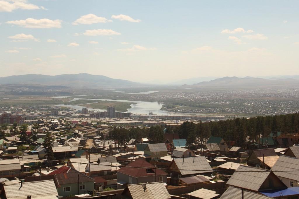 Ulan-Ude vue d'en-haut