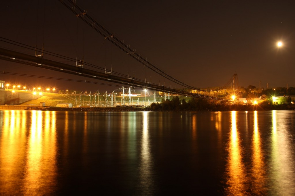 Irkutsk de nuit