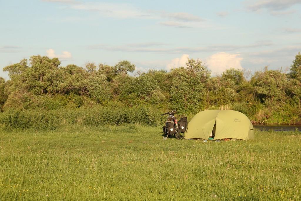 Avant dernière nuit dans la tente...