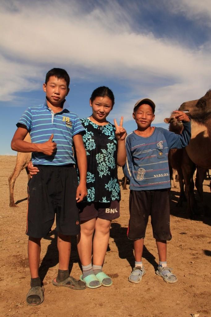 Nous trois gardiens de chameaux