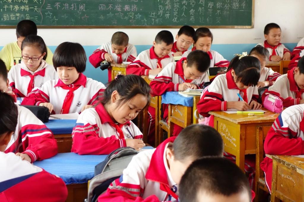 école_salle de classe_chine