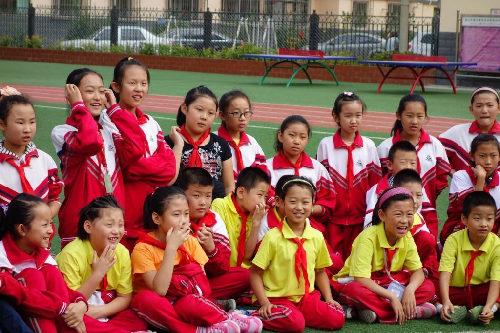 Enfants_chine_école_présentation