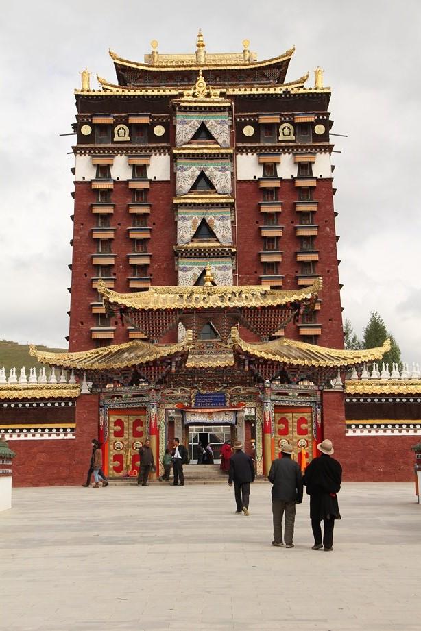 Gansu_temple_tibétain