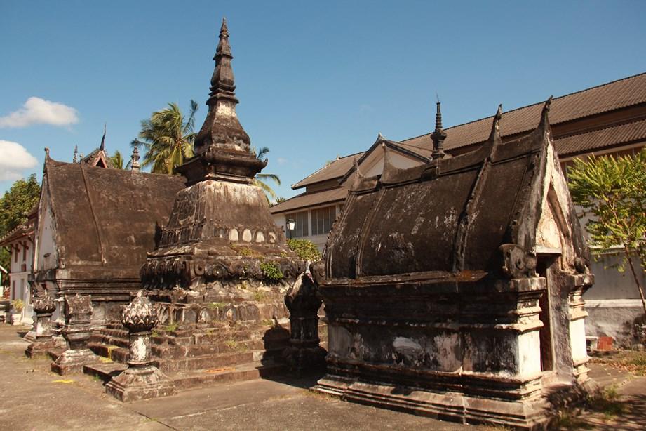Temple dans la ville de Luang Prabang