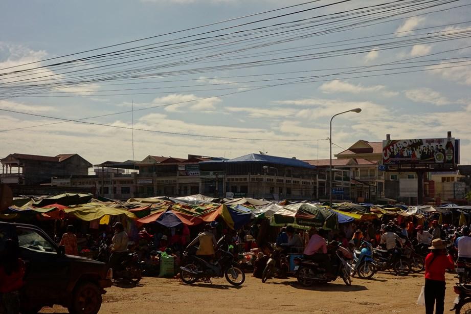 Petit marché dans le Nord.ouest