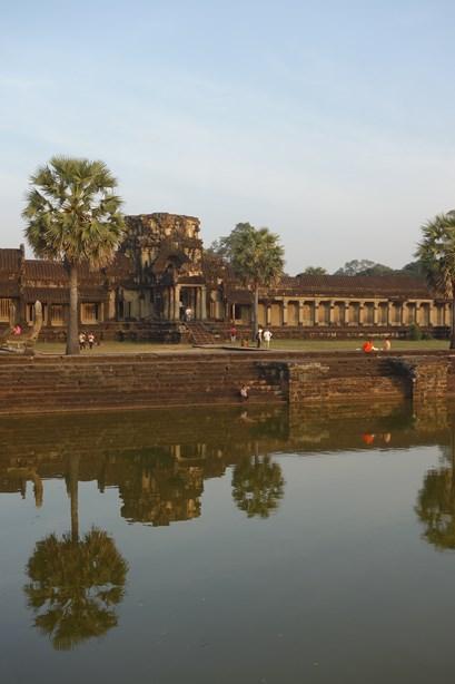 Couché de soleil sur Angkor Wat