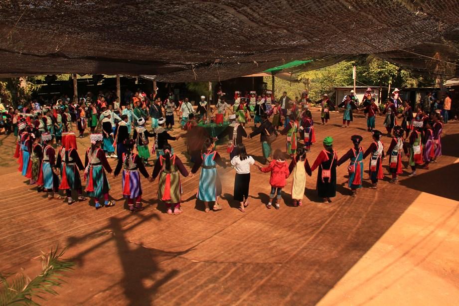 Festival du nouvel an pour les tribus montagnardes du Nord
