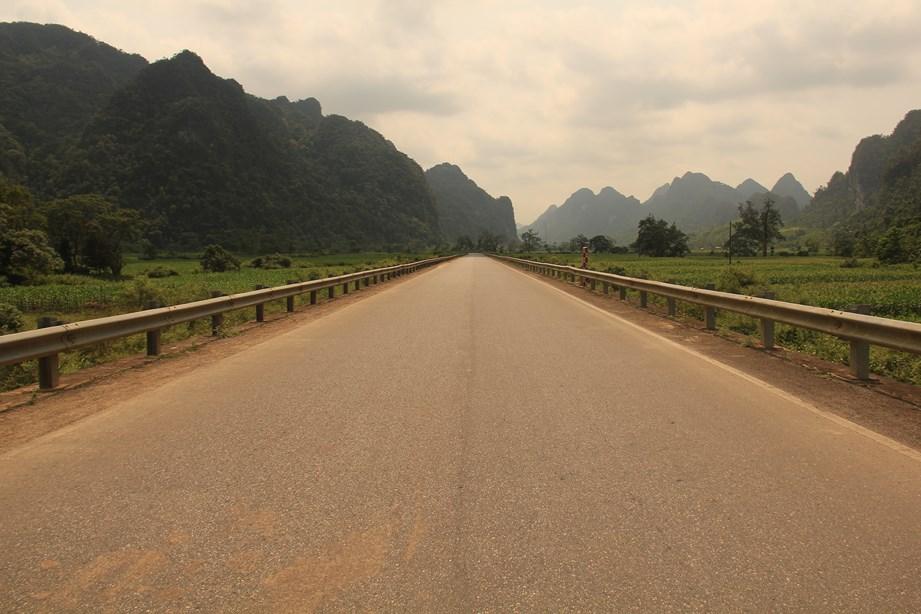 Seul au monde, route parfaite, que demander de plus?
