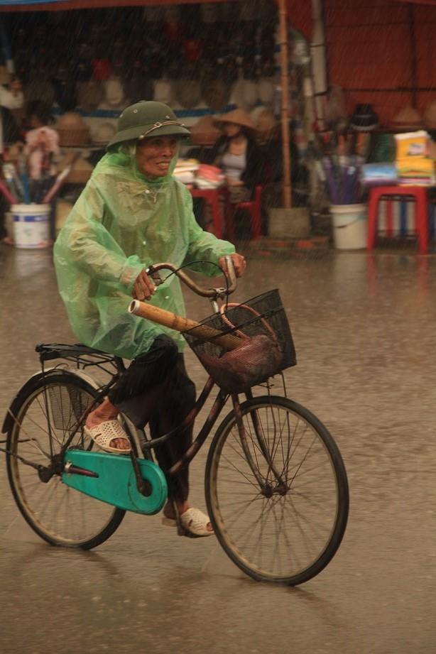 Des millions de vélos, même sous la pluie