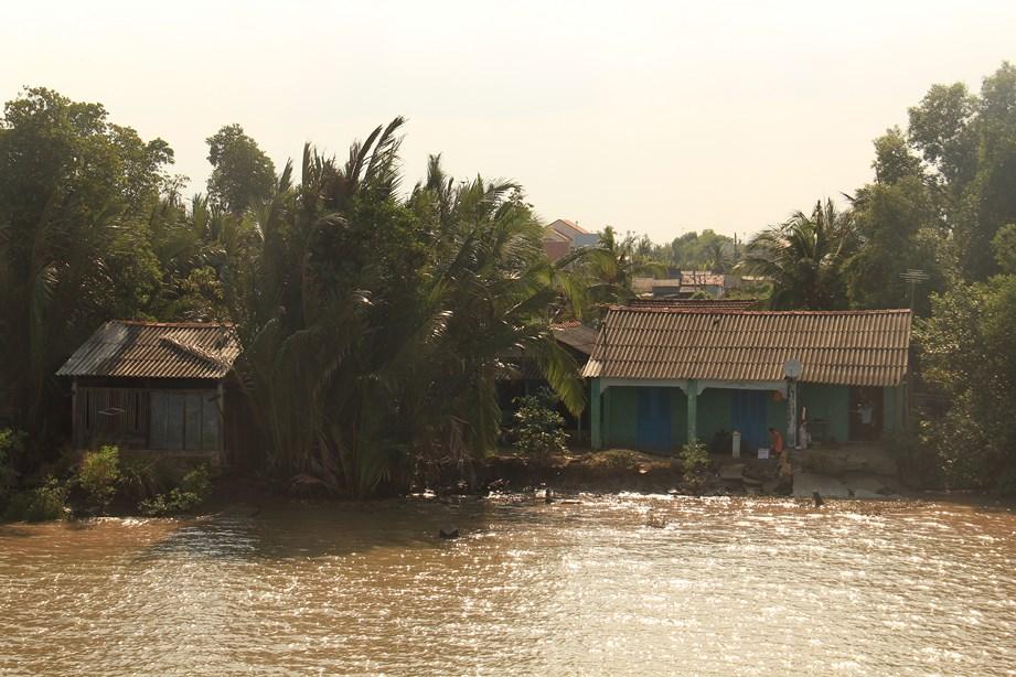Maison au bord du fleuve