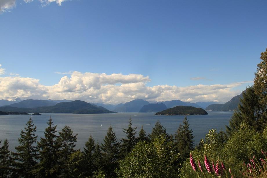 Dès que l'on quitte Vancouver, le paysage se fait magique