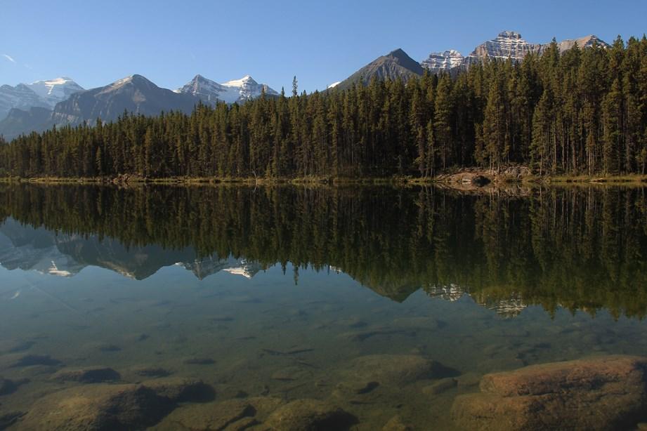 Un lac parmi une centaine