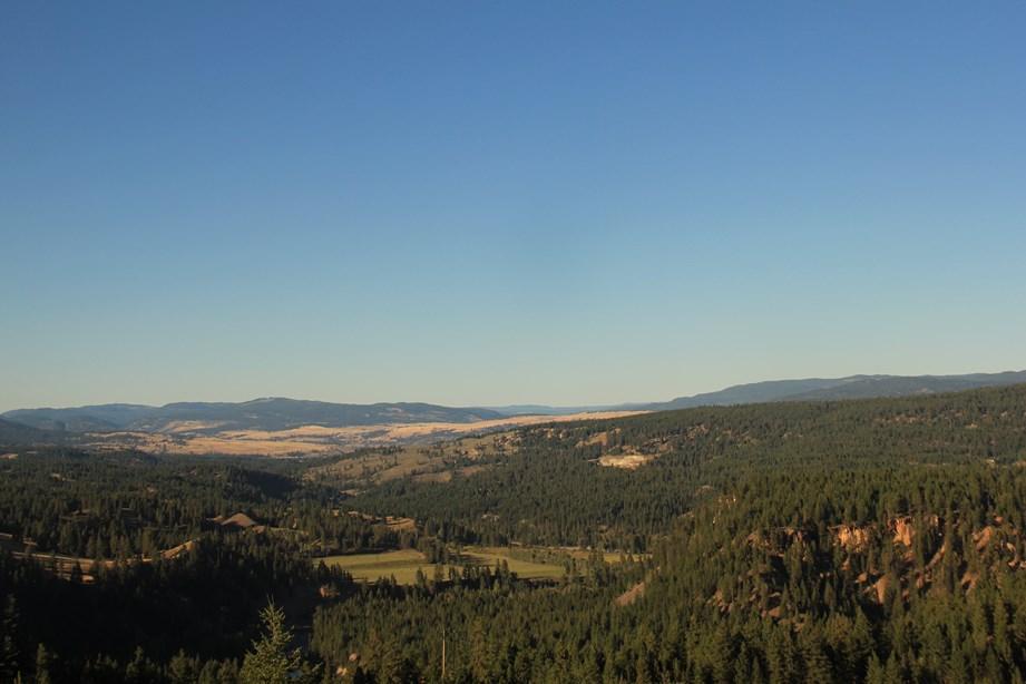 Dernier coup d'oeil sur l'Okanagan valley