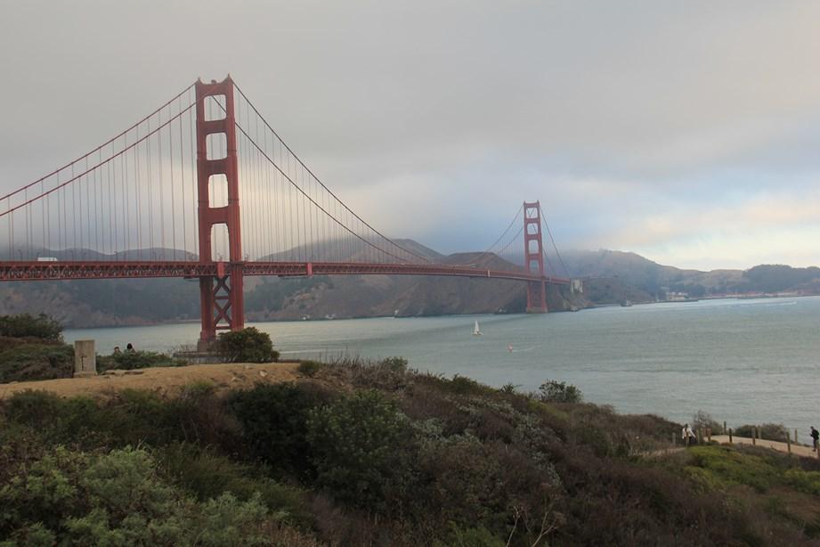 Petite balade au pied du Golden Gate Bride