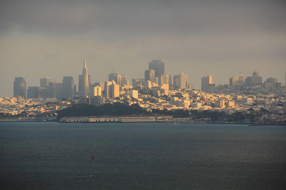 San Francisco vue depuis le ferry