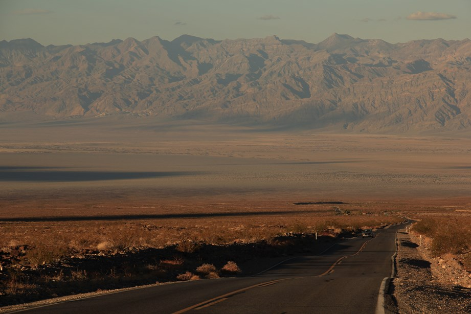 Et dans la descente, la Vallée de la Mort