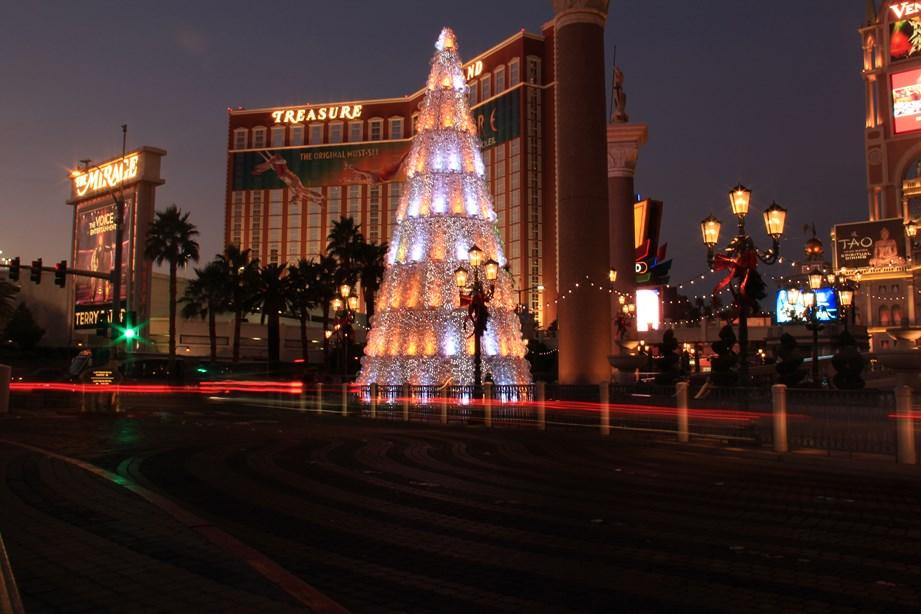 On fête aussi Noël à Vegas