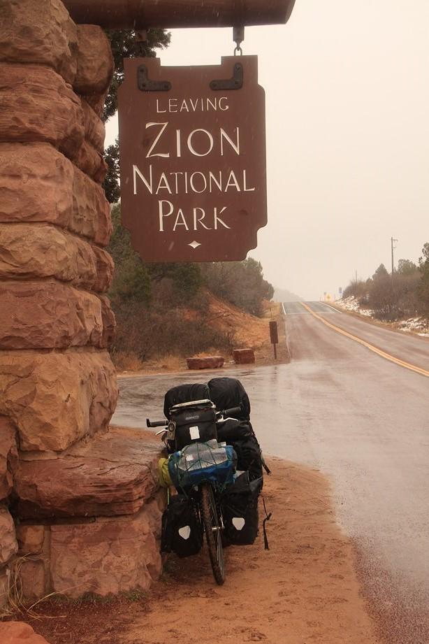 Bonjour Zion et le temps pourri!