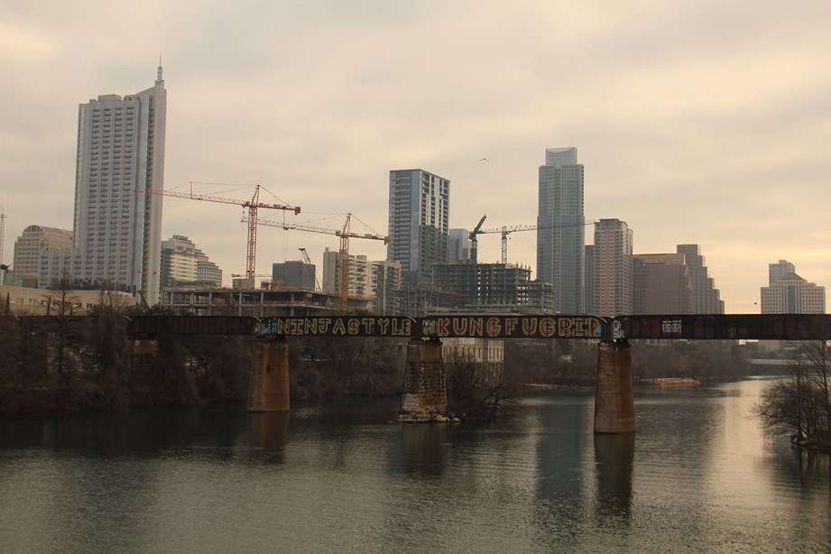 Sur la rivière d'Austin