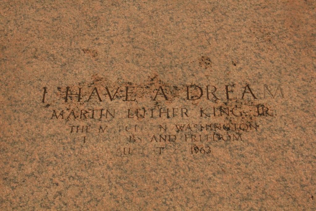 Martin Luther King Jr disait qu'il avait un rêve, nous en avons tous!