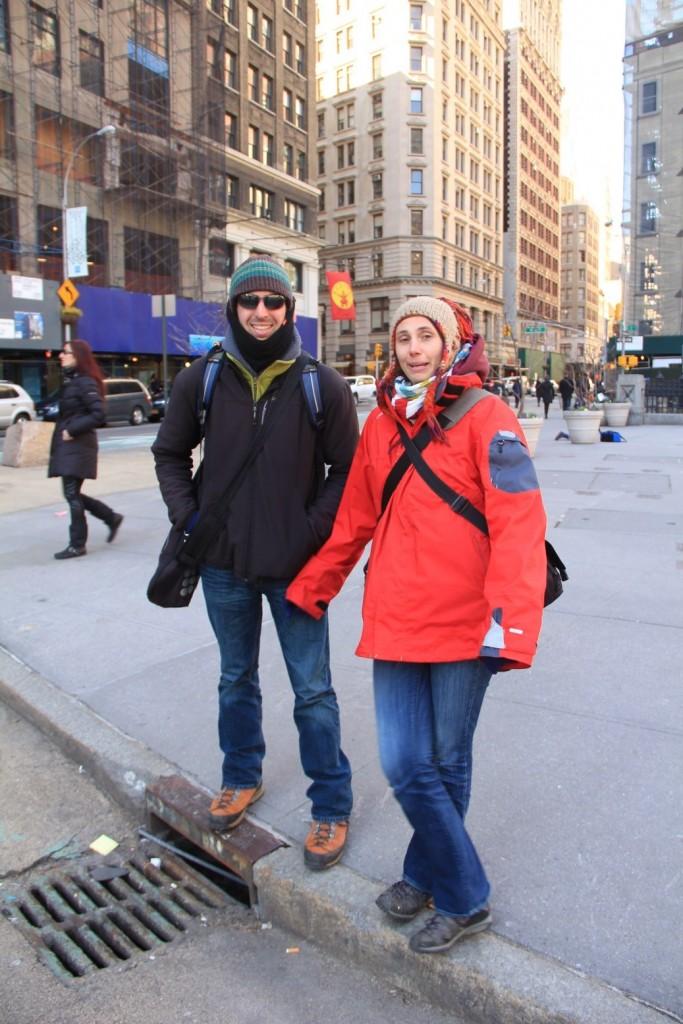 Katia et Yvan sans leur 4x4