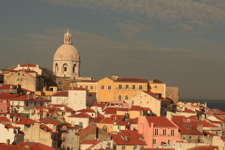 Lisbonne vu d'en-haut